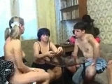 Russian poker strip game ends in an drunk orgy by jim100