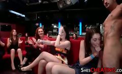 Bffs Cheer Their Friends On While blowing On meat