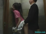 chinese broad In Golf Dress Fingered pounded While Standing cum To ass In The Toilette by cocounutskins