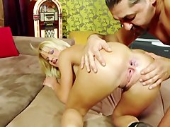 blondie With Great ass Does Anal