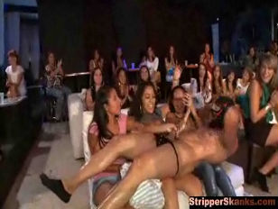 Damn male strippers have a tough job