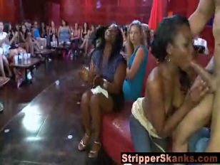 Stripper gets mauled by crazy horny b.