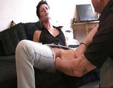 Extreme monster snatch fisted amateur housewife