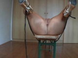 Amateur lady Tied and extreme Anal plowed with cum on Face  by mypornamateur