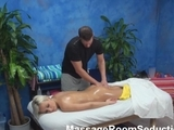yellow-haired young massage room hidden cam by unsub