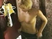 blondy sweety naked in changeroom
