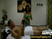 Hidden cams capture erotic chinese massage