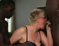 two ebony guys oral sex From old White Housewife
