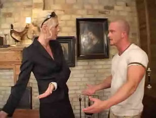 German Milf gets pounded by Employee