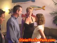 Milf housewife gets some from teen babysitter  Demilfcom. series
