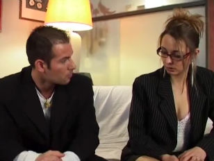 French housewife gets fucked on the c.