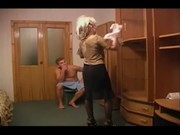 Russian mom and son - family seductions five