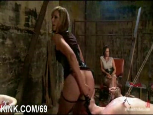 Punished and drilled in bondage