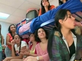 Indian College lady sucking Stripper schlong at Dorm Party by Jenni