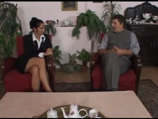 Lara Stevens job interview fuck