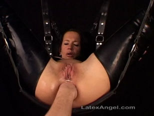 older wife in bondage fisted
