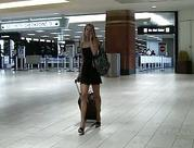 Lena blondie amateur young flashing her vagina in a public place