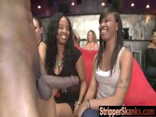 Women Going sleazy for Stripper cock