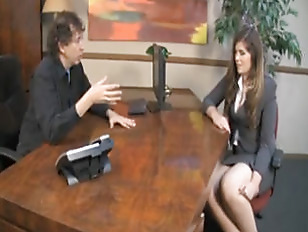Innocent chick pounded in the office