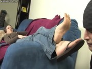 Mistress Megan - flip flop cleaning and f .