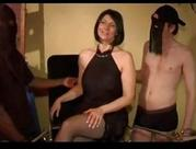 Clara french old gangbanged in stockings