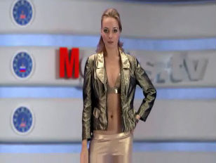 Russian Moskow chick TV