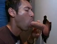 Secret gay boy gloryhole