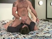 Amazing gay dude stripping gay tape