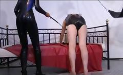 nasty domina humiliating her slave
