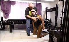 Hot slave girl enjoys being humiliated