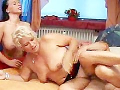Nothing Like A Good cougar older German Threesome