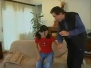 Tight teen German Shows How It's Done www .