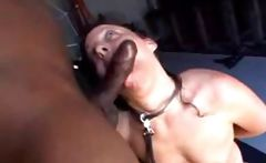 White slave wench pleases her black master any way he wants