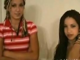 2 girlfriends doing a porno casting by soloocio