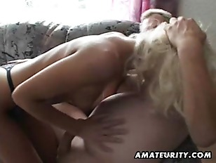 Amateur young girl swallows and fuc.