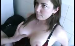 We drilled Emy a french bbw at home