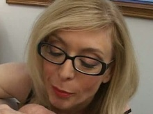 yellow-haired milfs in glasses porn movie