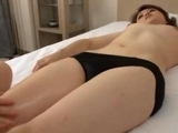 asian broad Massaged Getting Her Nipples sucked vagina Licked By The Masseuse On The Bed by japlez