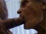77 years old grandmother swallowing by dateoldwomen