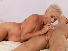 old lady mature Cecily bangs virgin
