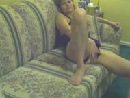dirty grandmother twat playing and dong fucking