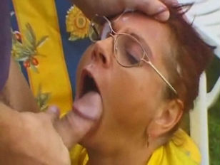 Grannies love facials Cumpilation