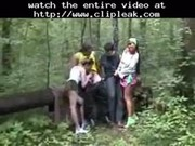 Group Sex In The Wood By Snahbrandy