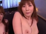 2 chinese bitches In Stockings Masturbating With Toys Giving Handjob Getting Facial by japlez