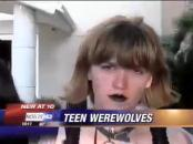 teenie Wolves - Furry emo goth losers