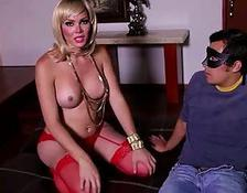 pretty Mexican tgirl Gets Analed