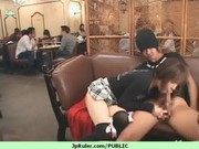 lovely japanese broad drilled in public 22