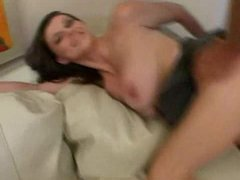 Watch Sara Stones large natural breasts bounce!