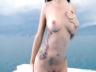 Sea trip with Tattooed sweetie