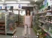 Japanese Schoolgirl screwed In Public Grocery Store
